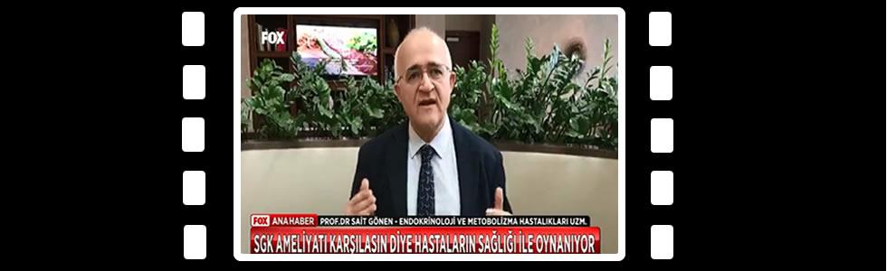 Prof. Dr. Sait GÖNEN Fox Tv Obezite, Tüp Mide Ameliyatları