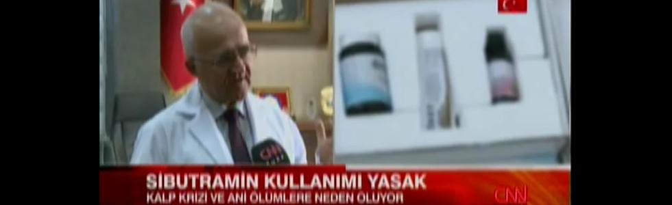 CNNTÜRK, Sibutramin kullanımı yasak