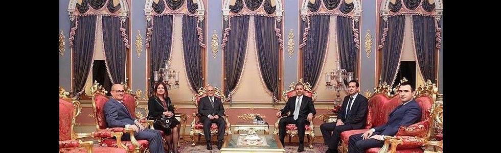 Valimiz Sayın Ali Yerlikaya'yı ziyaret ederek hayırlı olsun dileklerimizi ilettik.