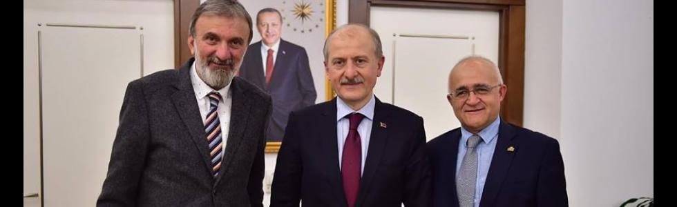 Fatih Belediye Başkanı Hasan Suver'in Cerrahpaşa Tıp Fakültesine gösterdiği yakın ilgi İçin teşekkür ederiz.