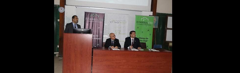 Tübitak Proje Destekleri Bilgilendirme Toplantısı CTF Burhaneddin Toker amfisinde yoğun bir katılımla gerçekleşti.