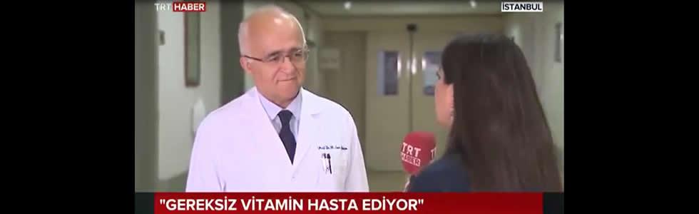 TRTHABER, Gereksiz Vitamin Hasta Ediyor?